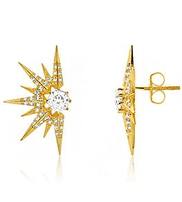 Melinda Maria Melinda Maria Серьги <br>Barrie Earring Gold  фото 2