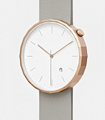Chi and chi Polygon Watch Rosegold Grey фото 1